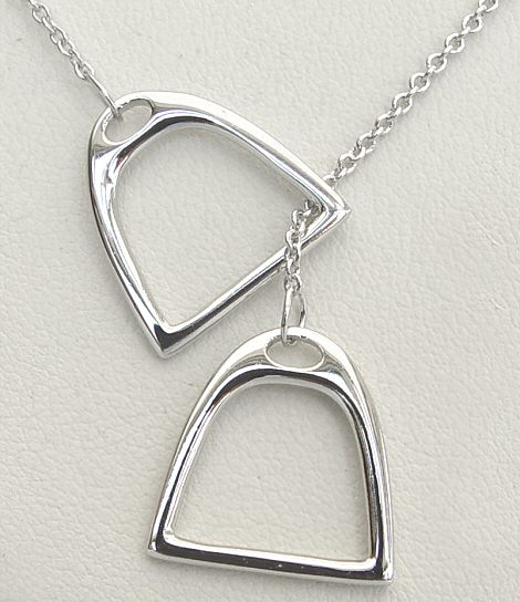 Stirrup Necklace